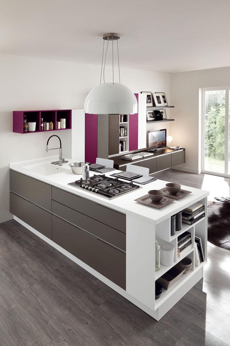 Cucine moderne componibili lube essenza cucine acquistabile in milano e provincia monza e - Outlet cucine milano e provincia ...