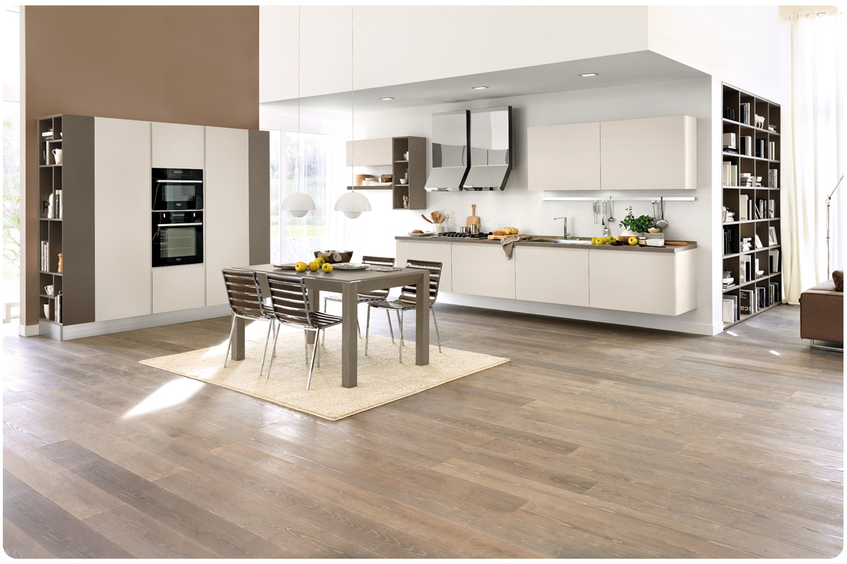Cucina componibile moderna excellent cucine componibili moderne creo kitchens by lube a - Cucine lube moderne ...