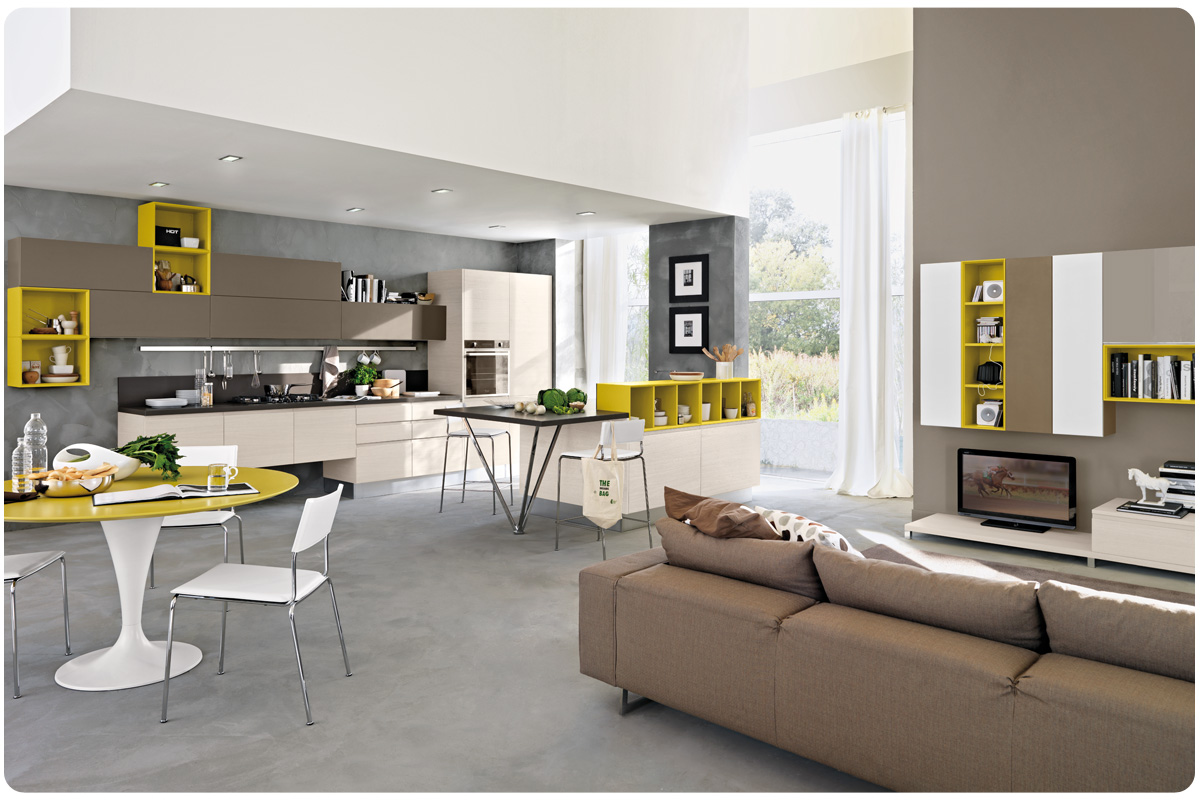Cucine moderne componibili lube linda acquistabile in - Cucine in linea moderne ...