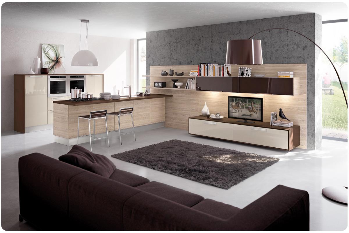 cucine moderne componibili lube martina - acquistabile in milano e ... - Cucine Moderni