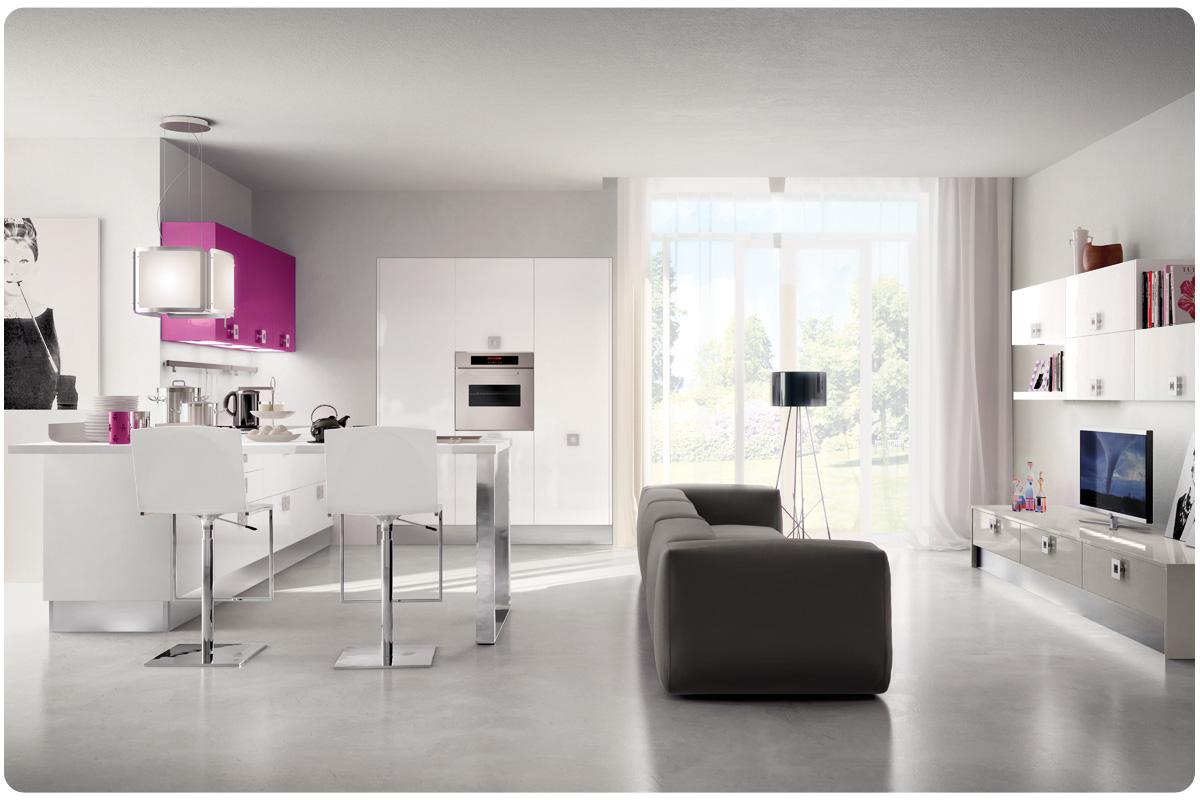 Soggiorni Lube Moderni: Tiarch.com cucine moderne foto e prezzi. Soggiorni mo...