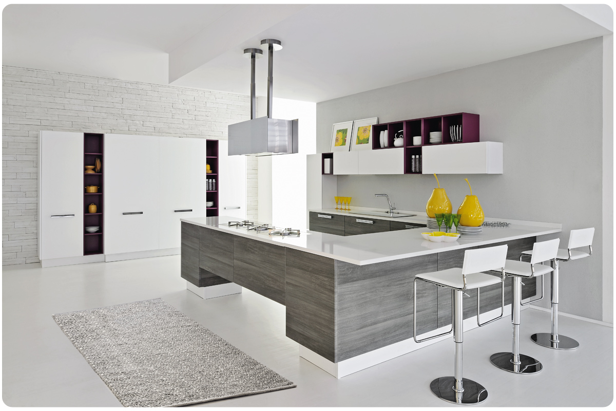 Cucine moderne componibili Lube Nilde - cucine - Acquistabile in ...