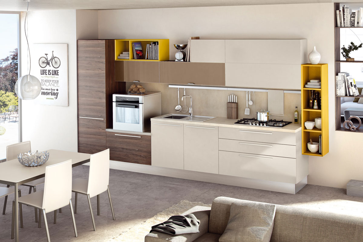 Cucine moderne colorate cool amazing cucina moderna laccata
