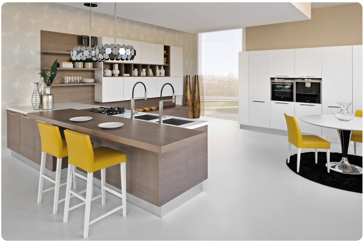 Awesome cucina moderna lube contemporary home interior - Cucine componibili nuove ...
