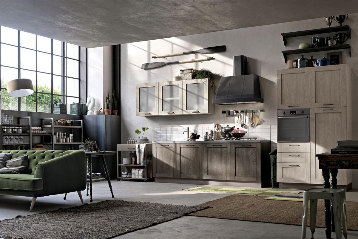 Cucine moderne componibili Stosa City - Acquistabile in Milano e ...