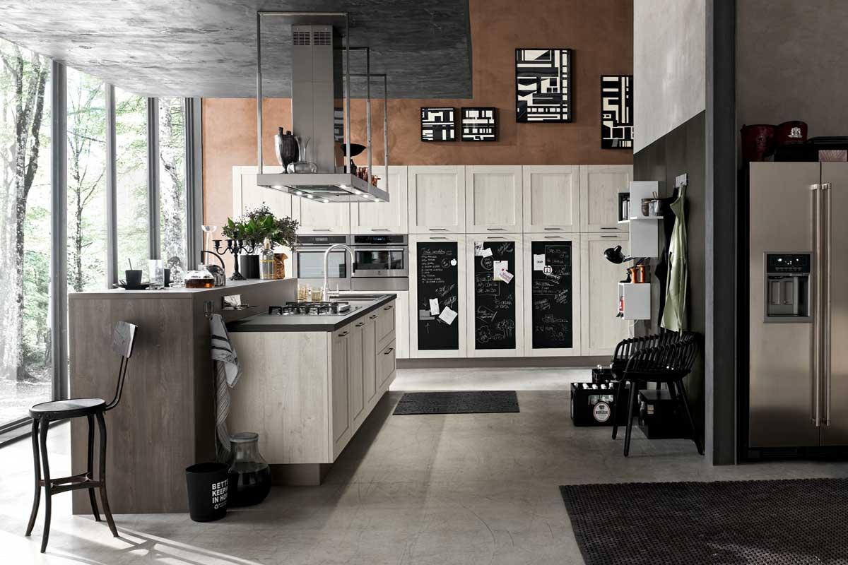 Cucine moderne componibili stosa city acquistabile in for Lops arredi distretto del design trezzano