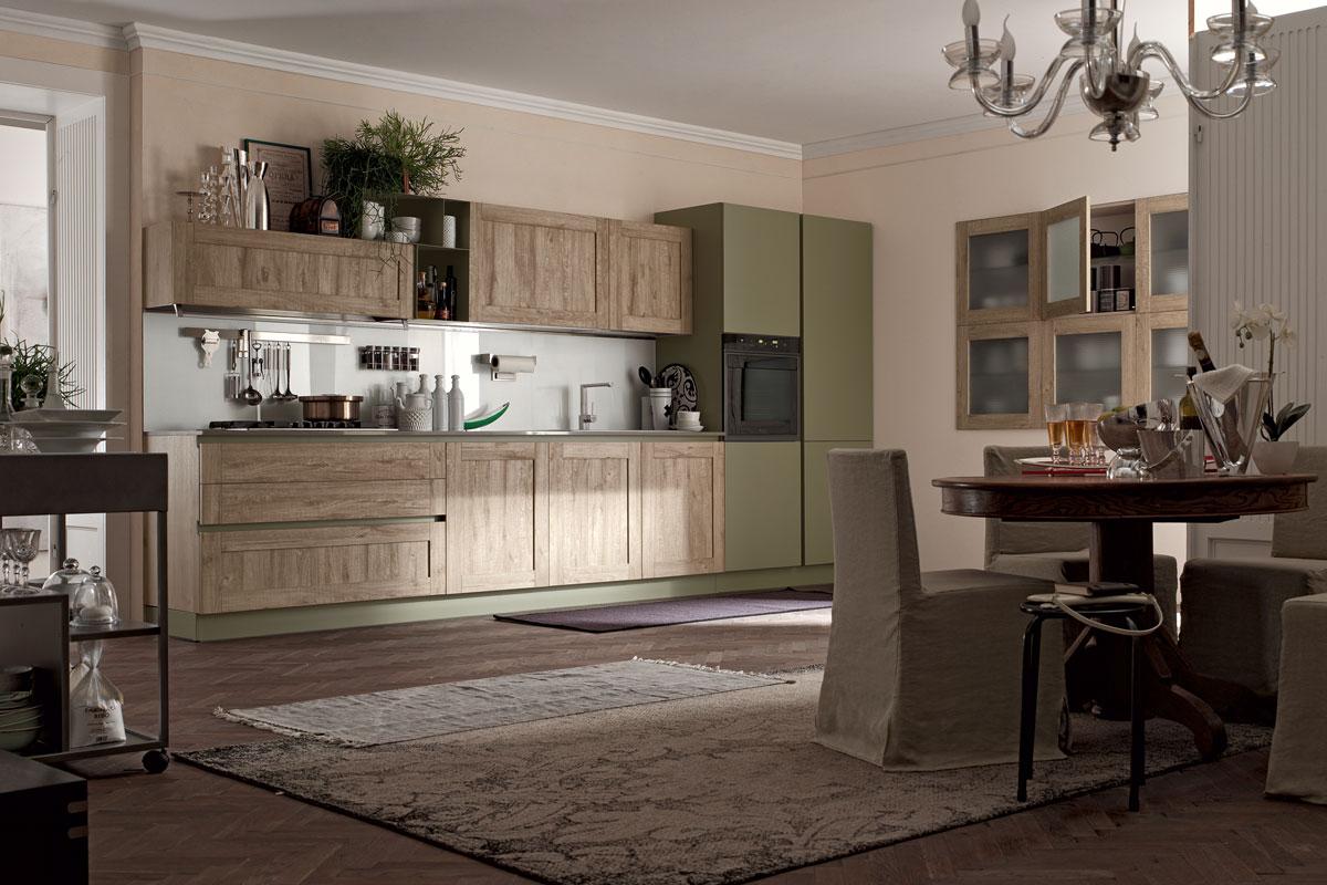 Cucine moderne componibili stosa city acquistabile in for Stosa cucine verona
