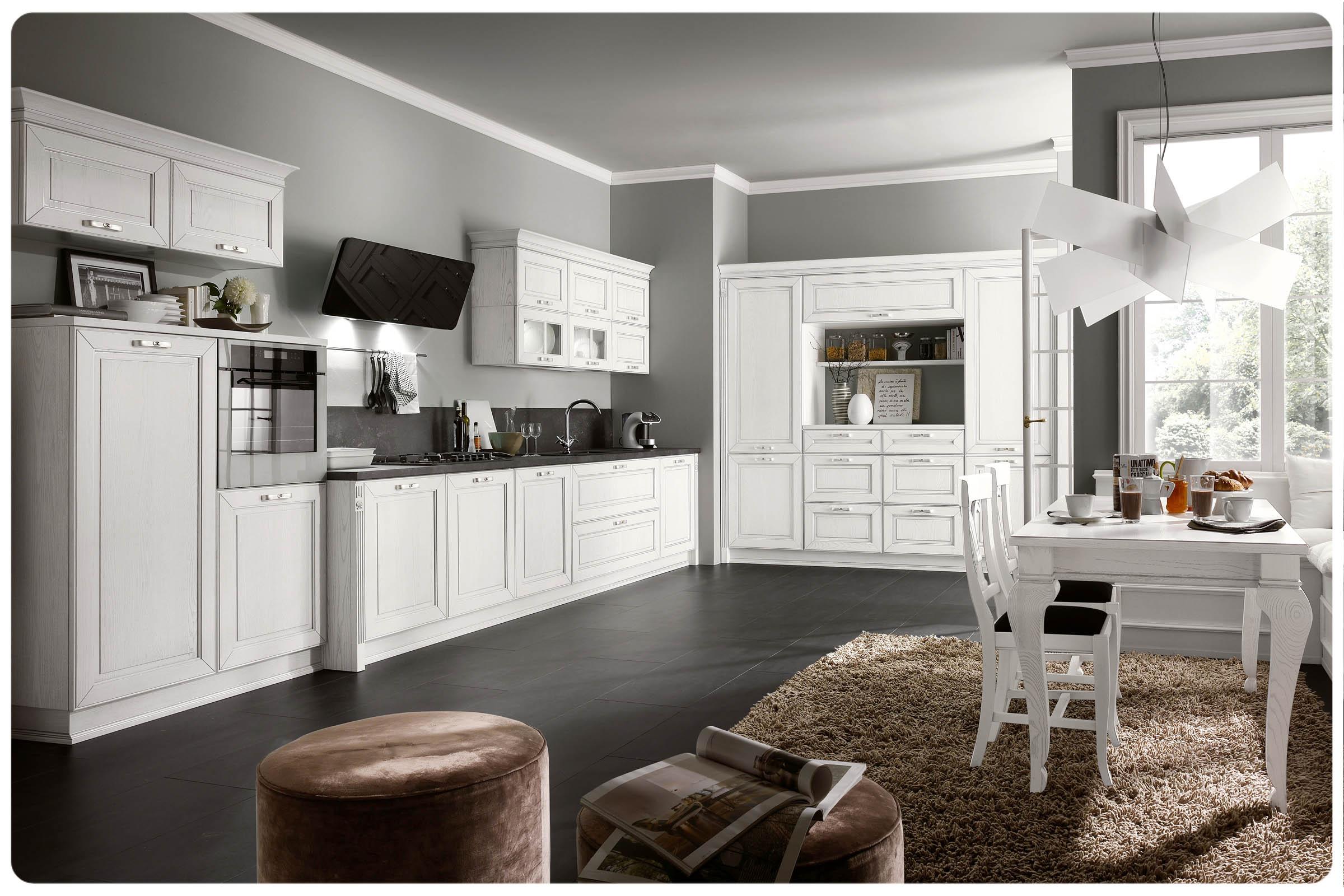 Cucine classiche moderne foto finest scavolini cucina madeleine with cucine classiche moderne - Foto cucine moderne ...