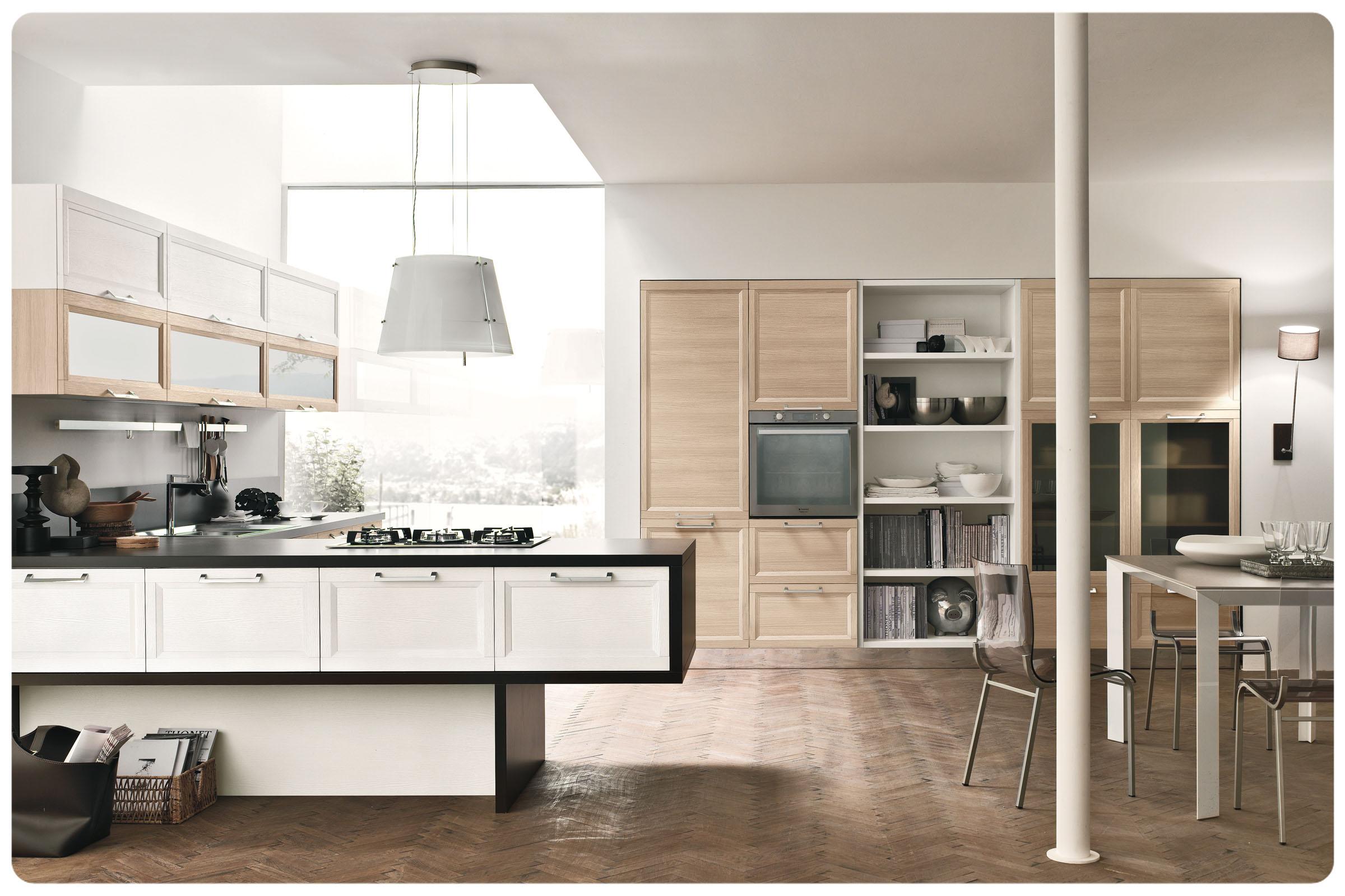 Cucine moderne componibili stosa malibu acquistabile in for Mobili cucine moderne componibili