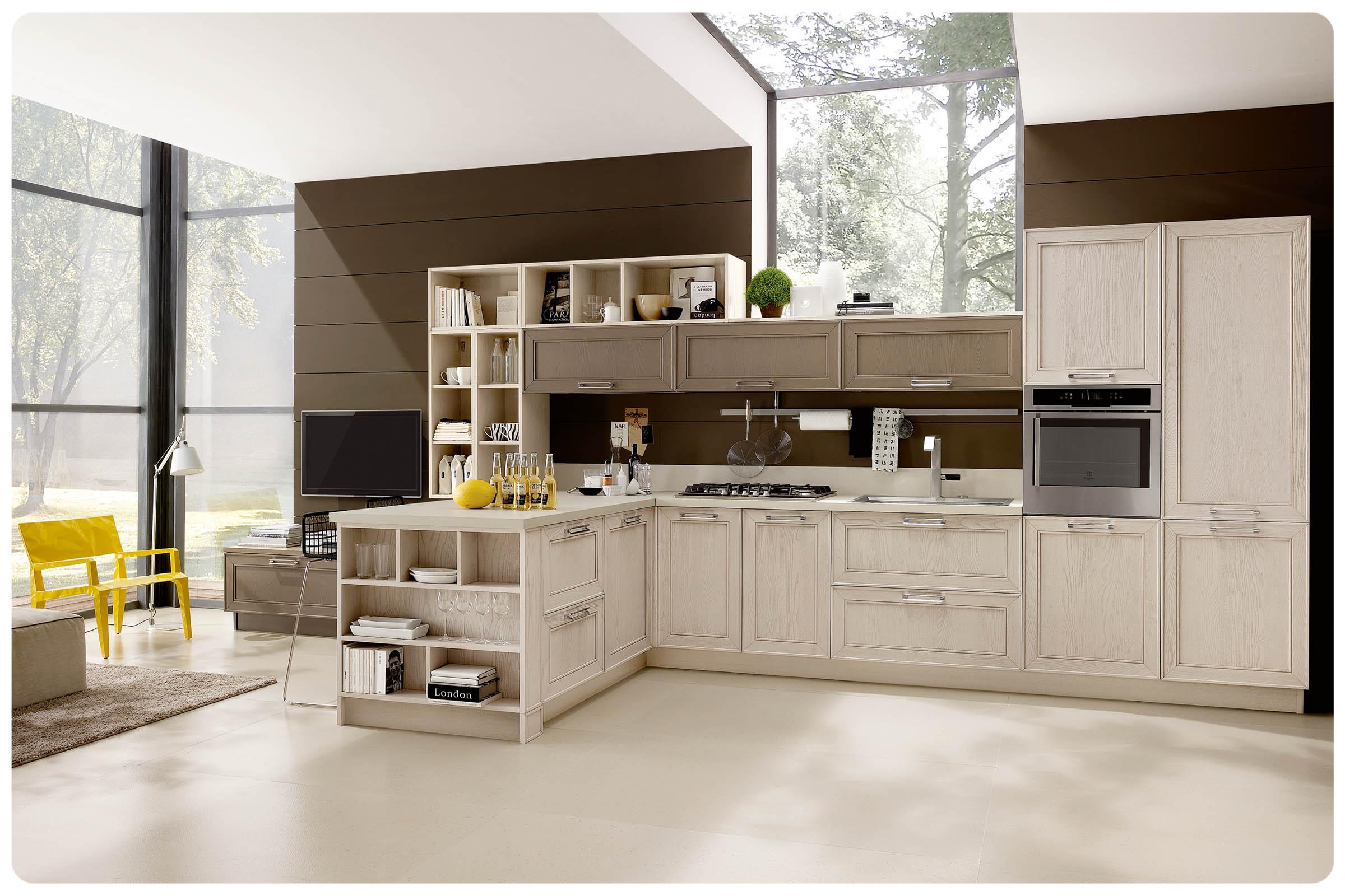 Cucine moderne componibili Stosa Maxim - Acquistabile in Milano e provincia, Monza e Brianza