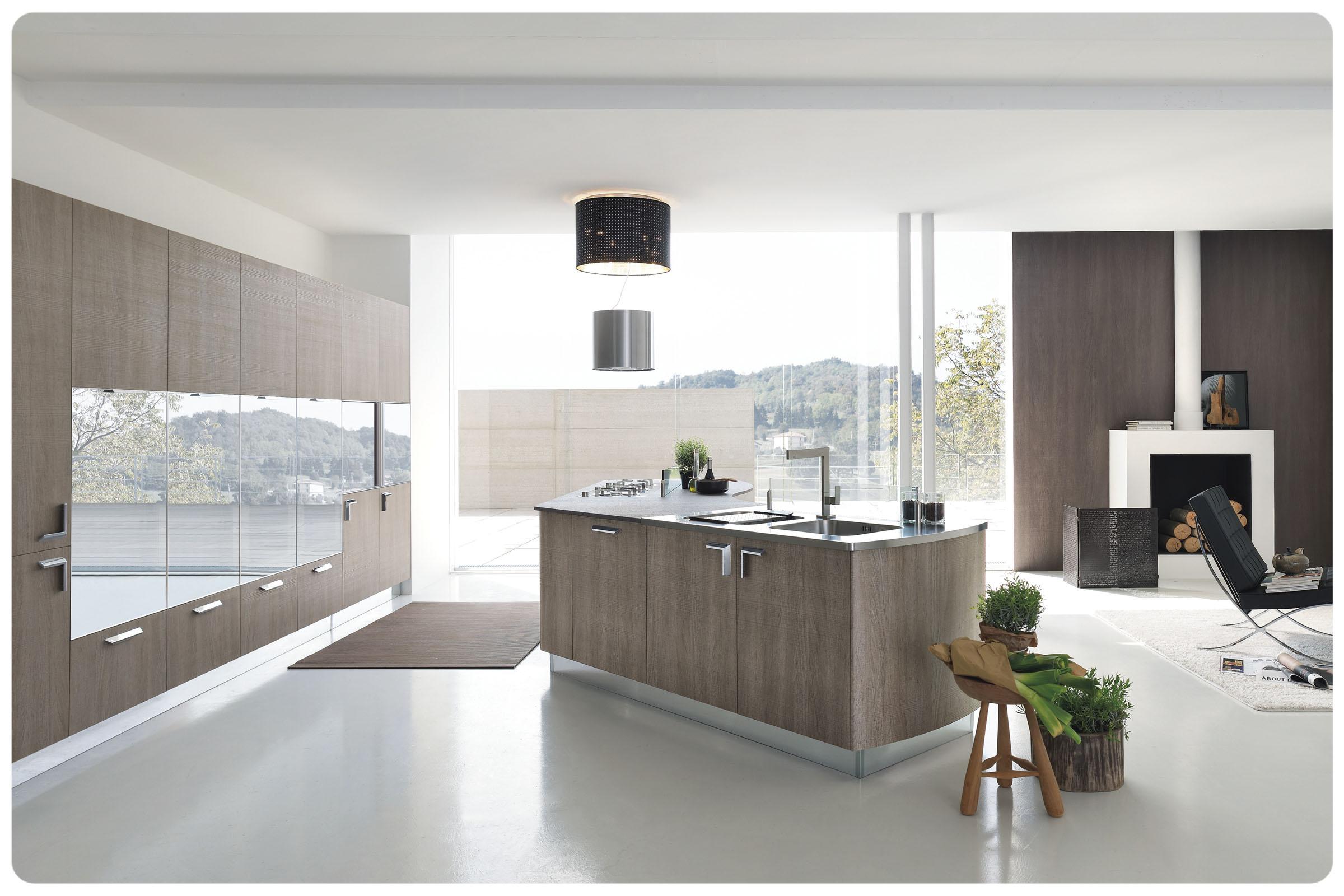 Cucine moderne componibili Stosa Milly 2