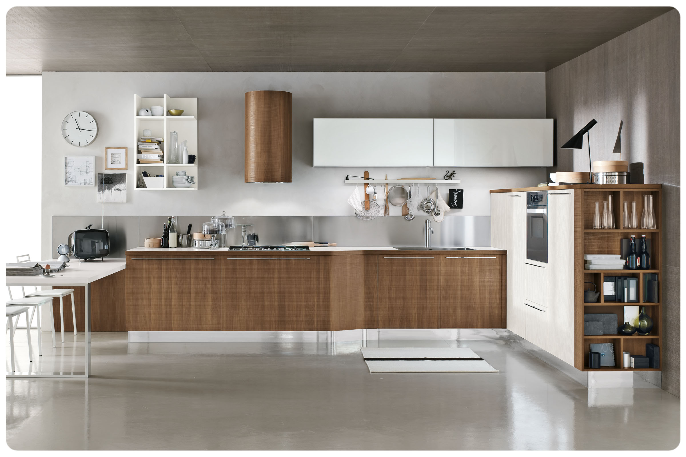 Cucine moderne componibili Stosa Milly 3