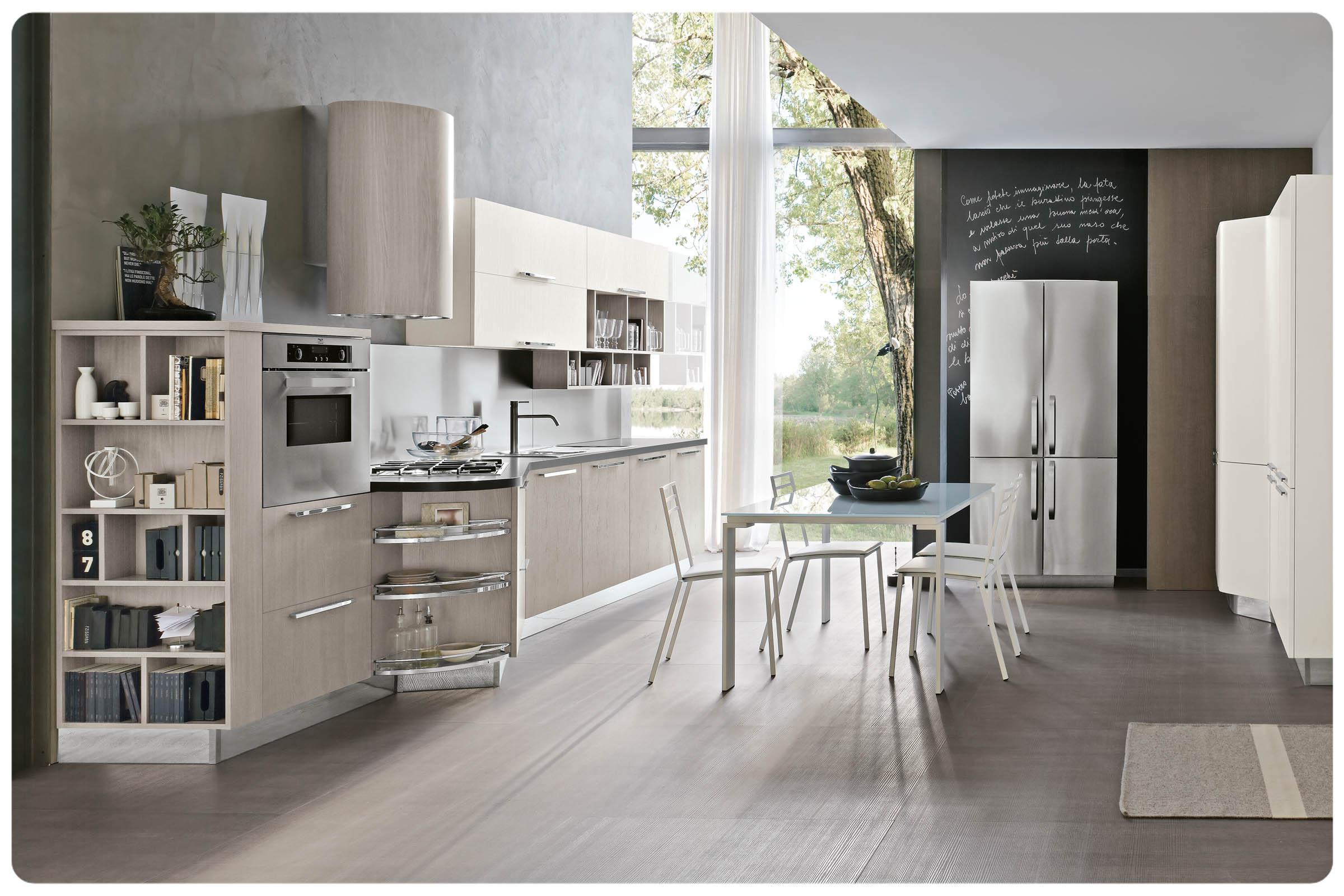 Cucine moderne componibili Stosa Milly 4