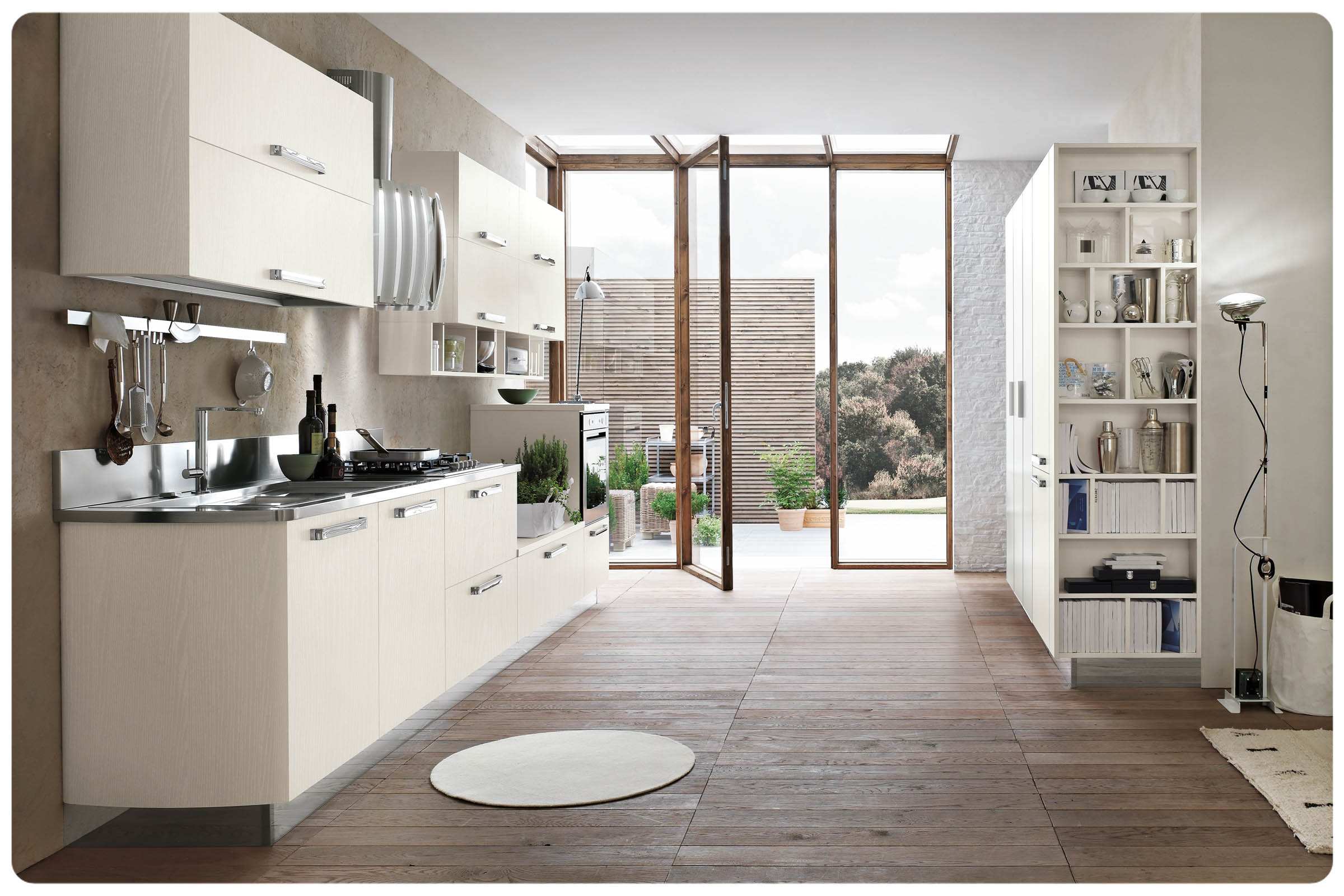 Cucine moderne componibili Stosa Milly 5