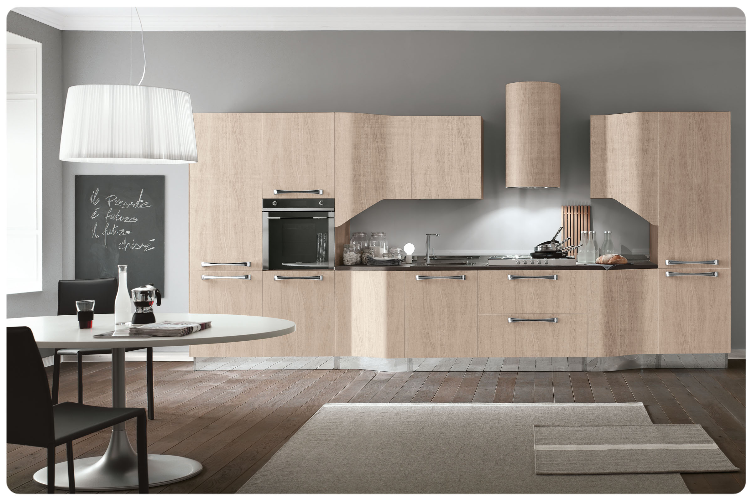 Cucine moderne componibili Stosa Milly 6