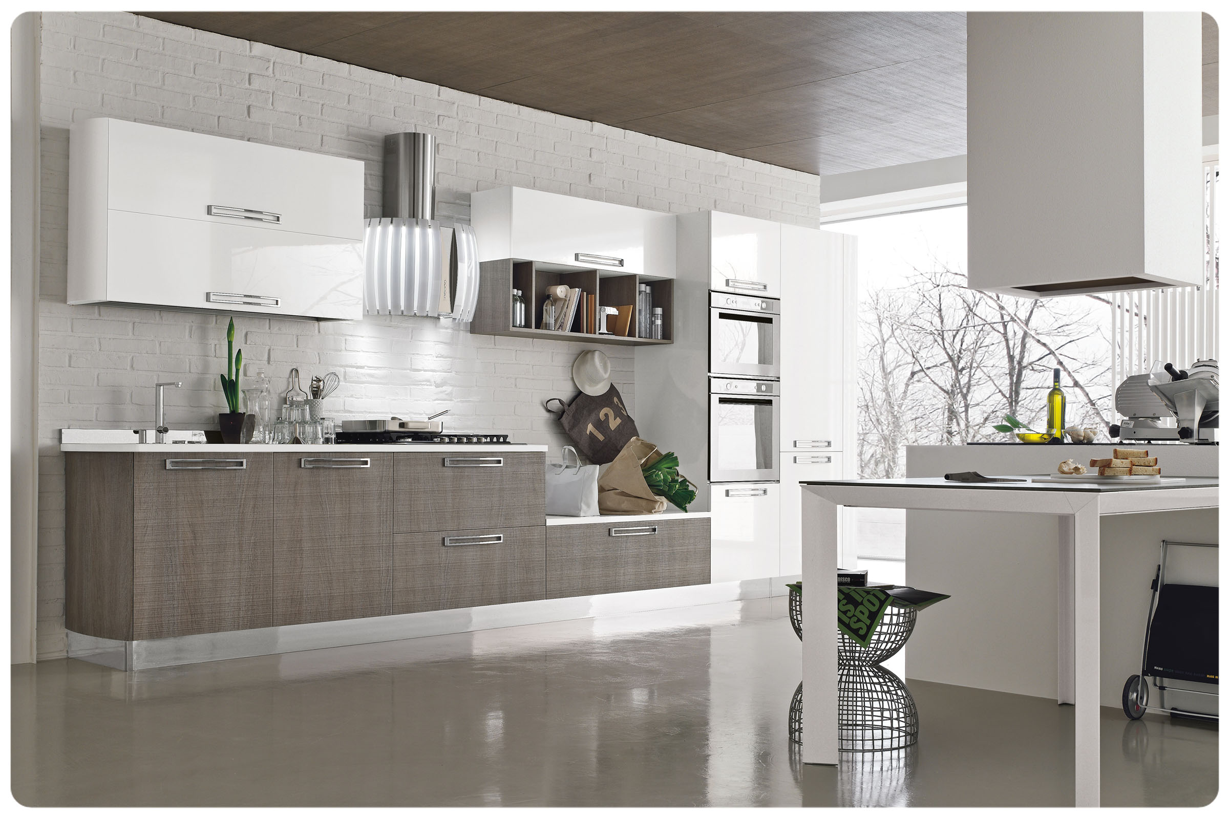Cucine moderne componibili Stosa Milly 7
