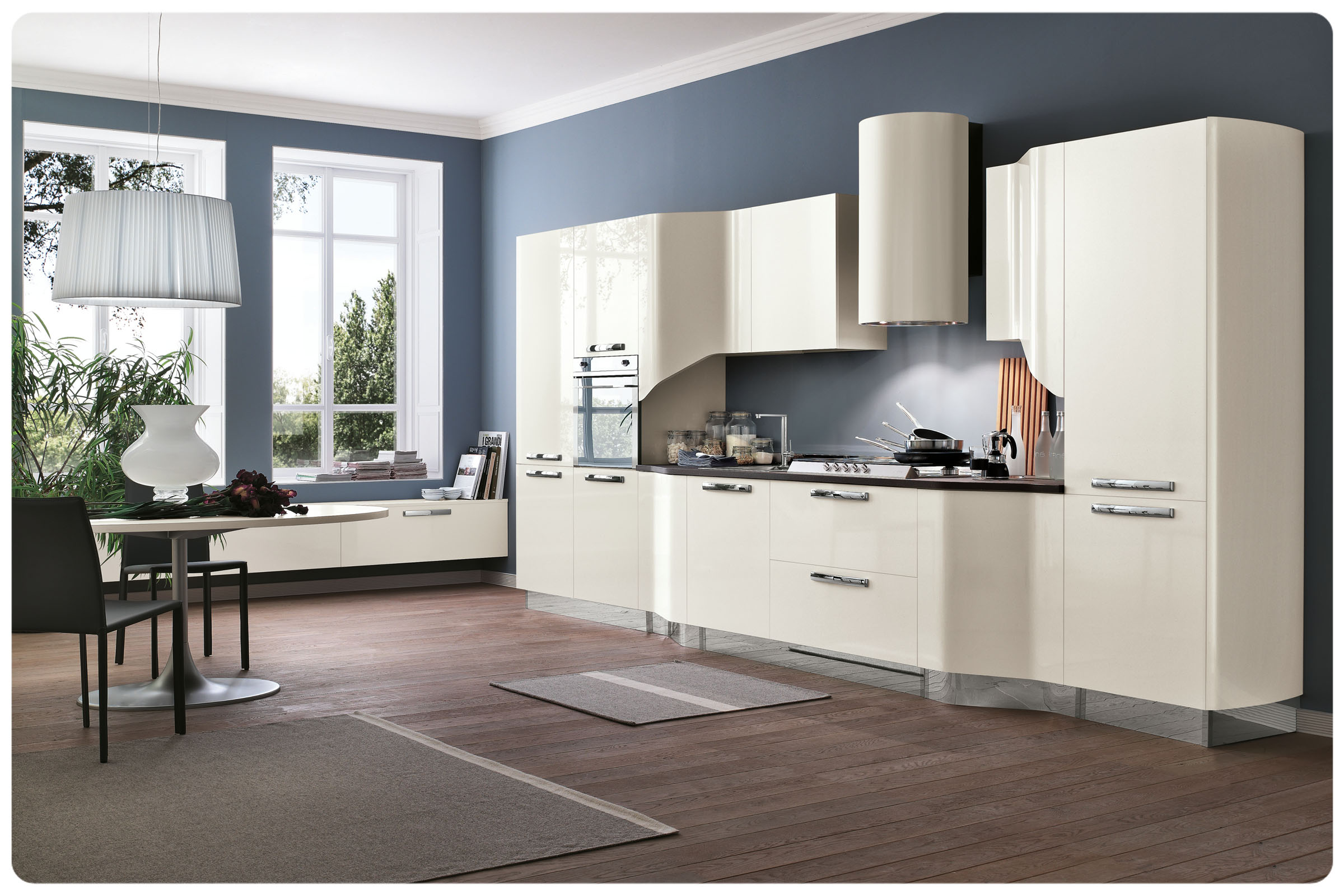 Cucine moderne componibili Stosa Milly 8