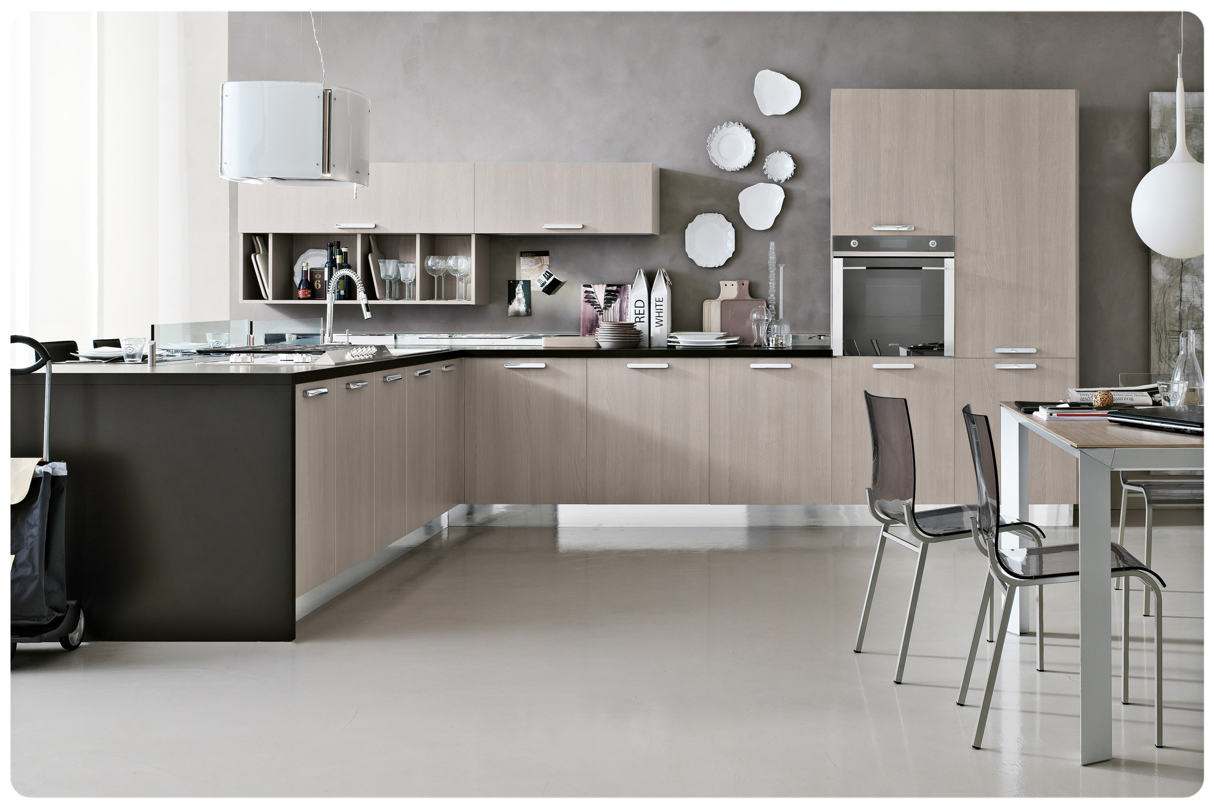 Cucine moderne componibili Stosa Milly 10