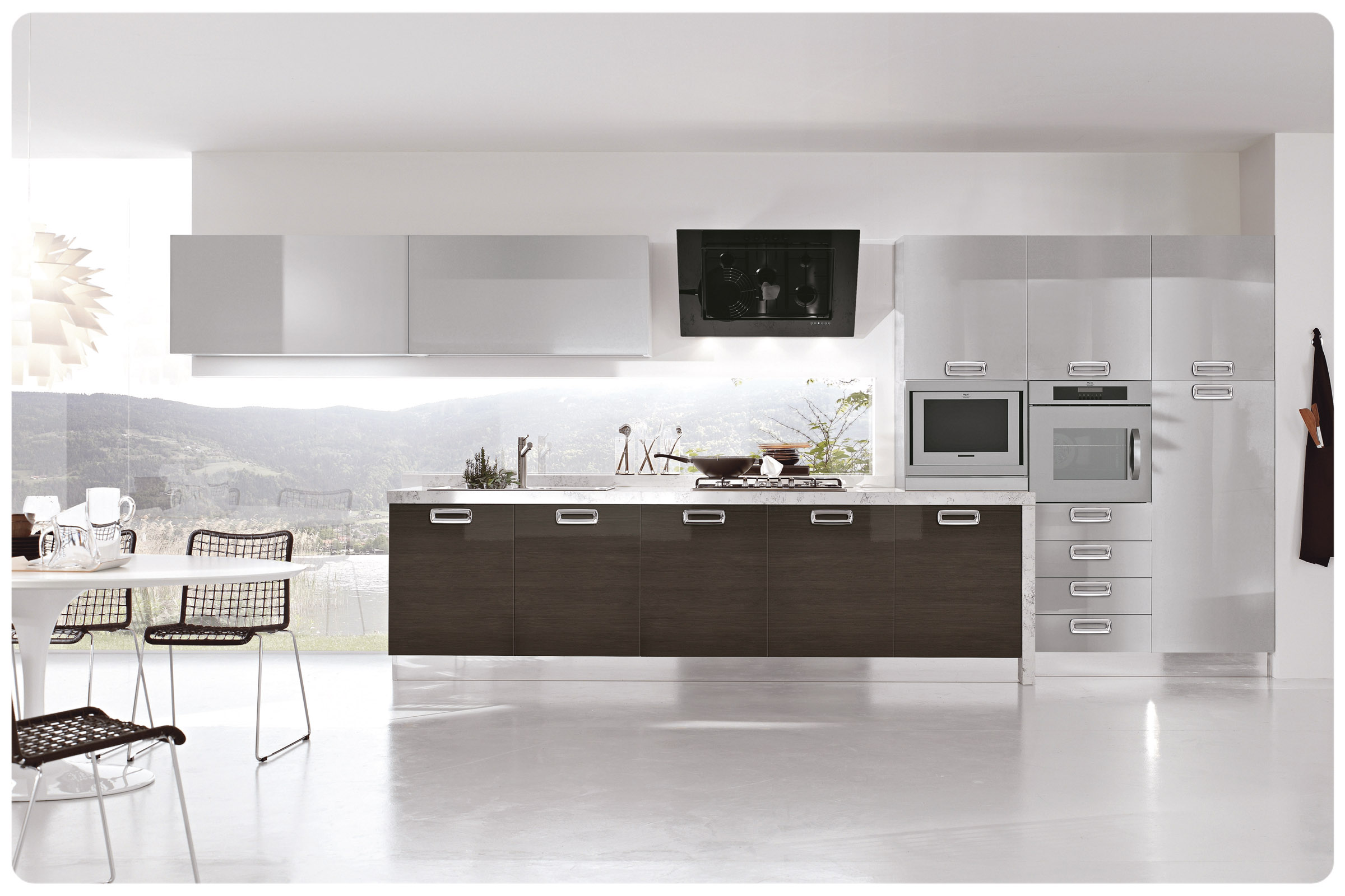 Cucine moderne componibili stosa replay acquistabile in for Zoccolo casa moderna