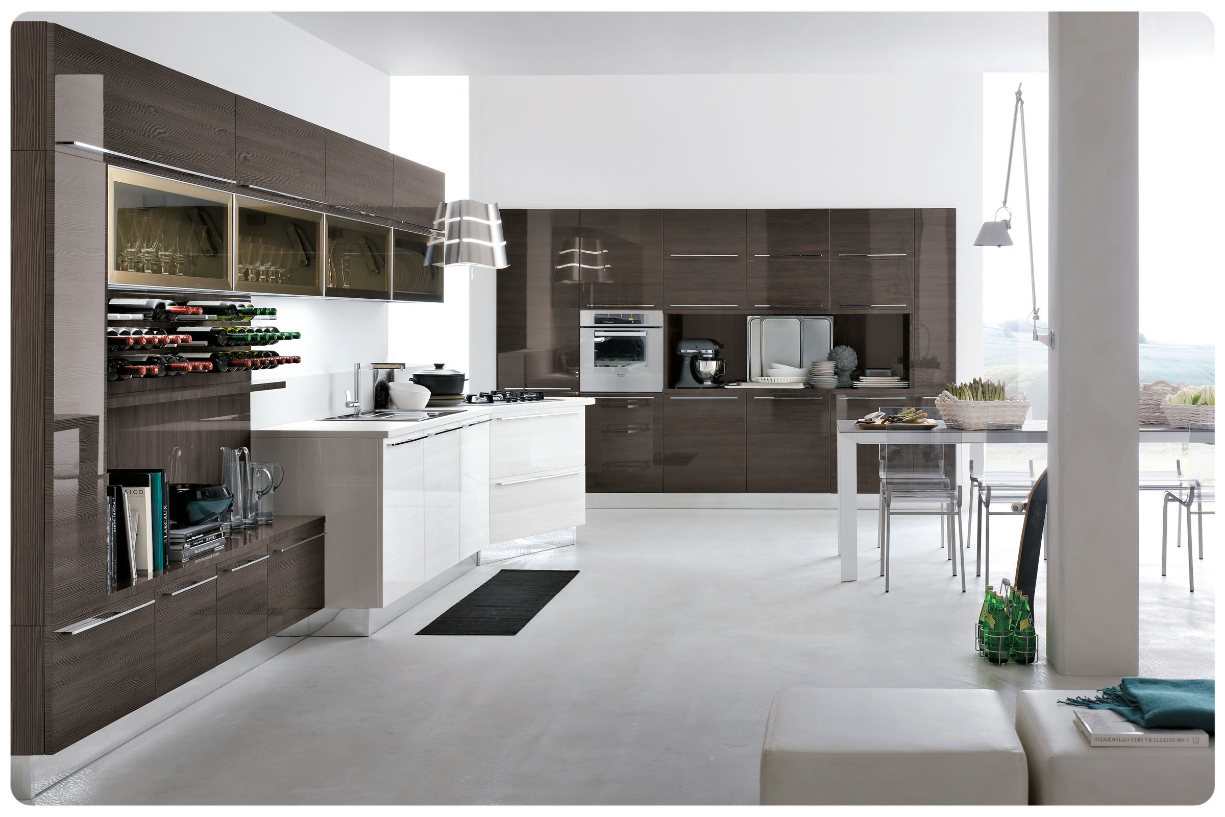 Cucine moderne componibili stosa replay acquistabile in for Cucine componibili