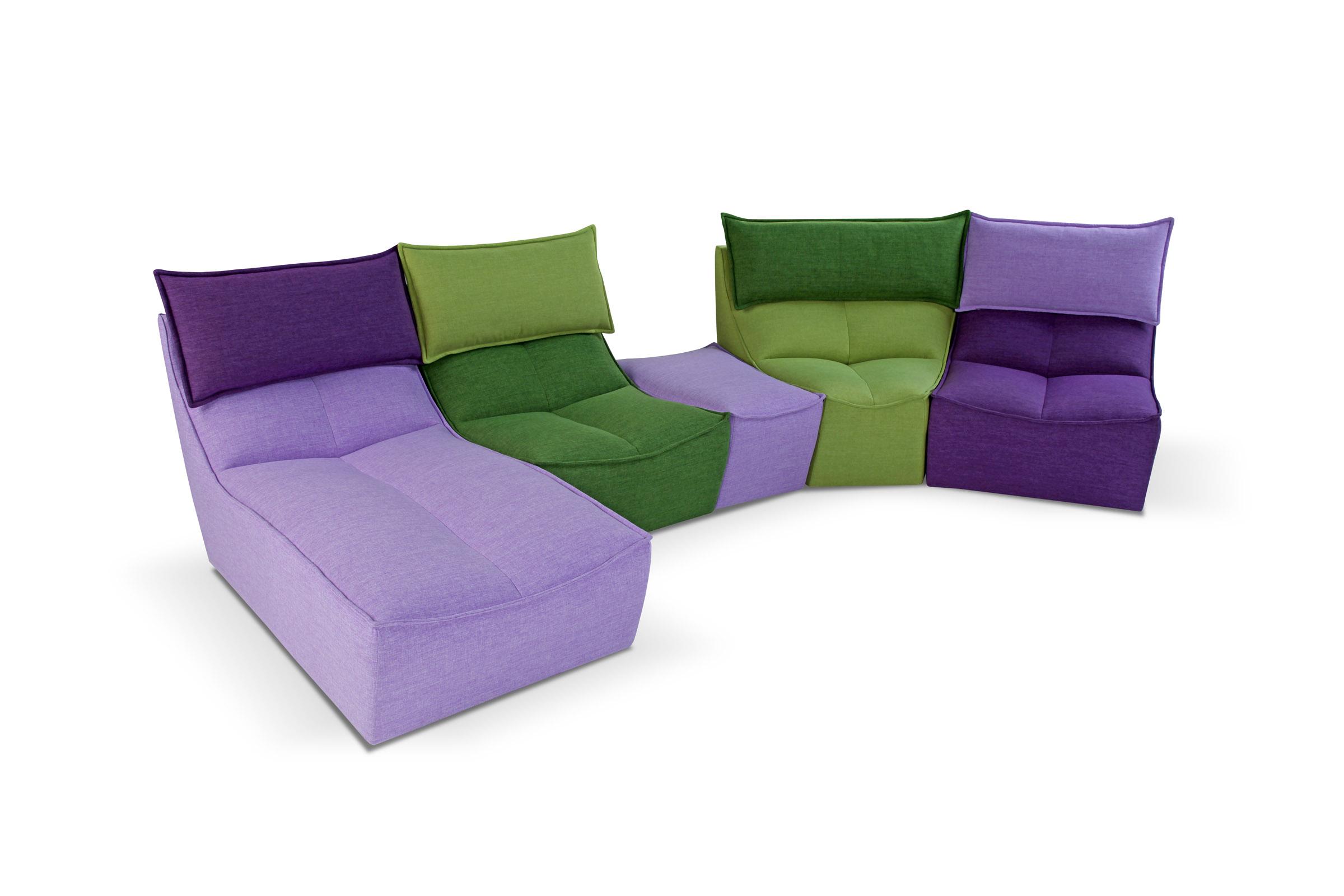 divano moderno calia hip hop - acquistabile in milano e provincia