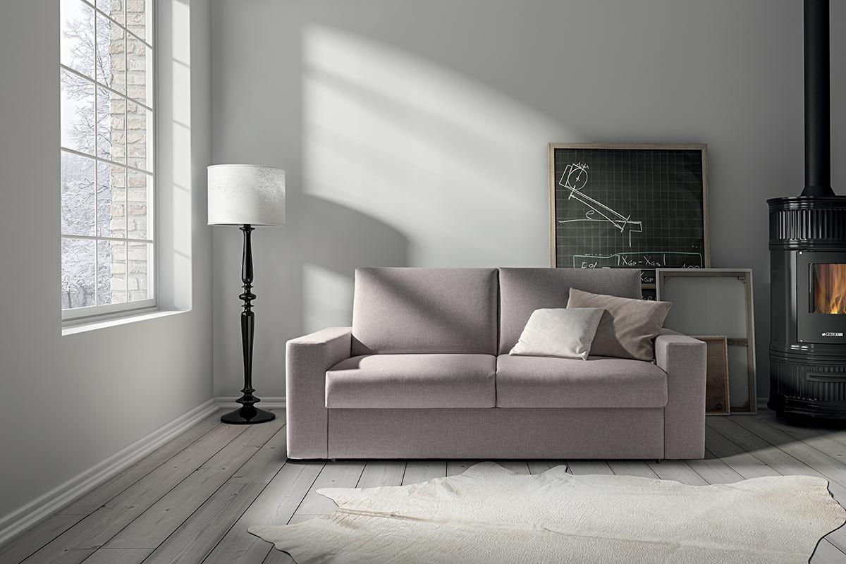 Divani letto moderni elegant salima divano letto beige with