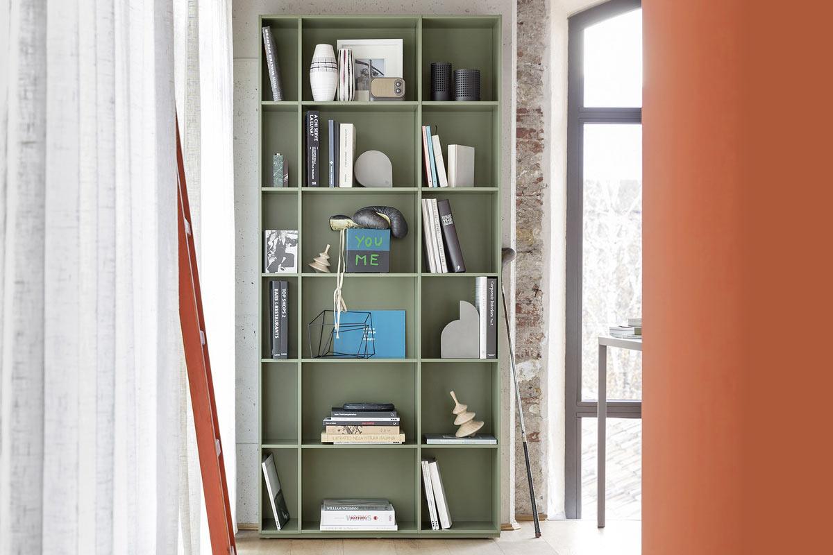 Mobili Ufficio Libreria : Libreria da ufficio moderna componibile top lops progetto wall