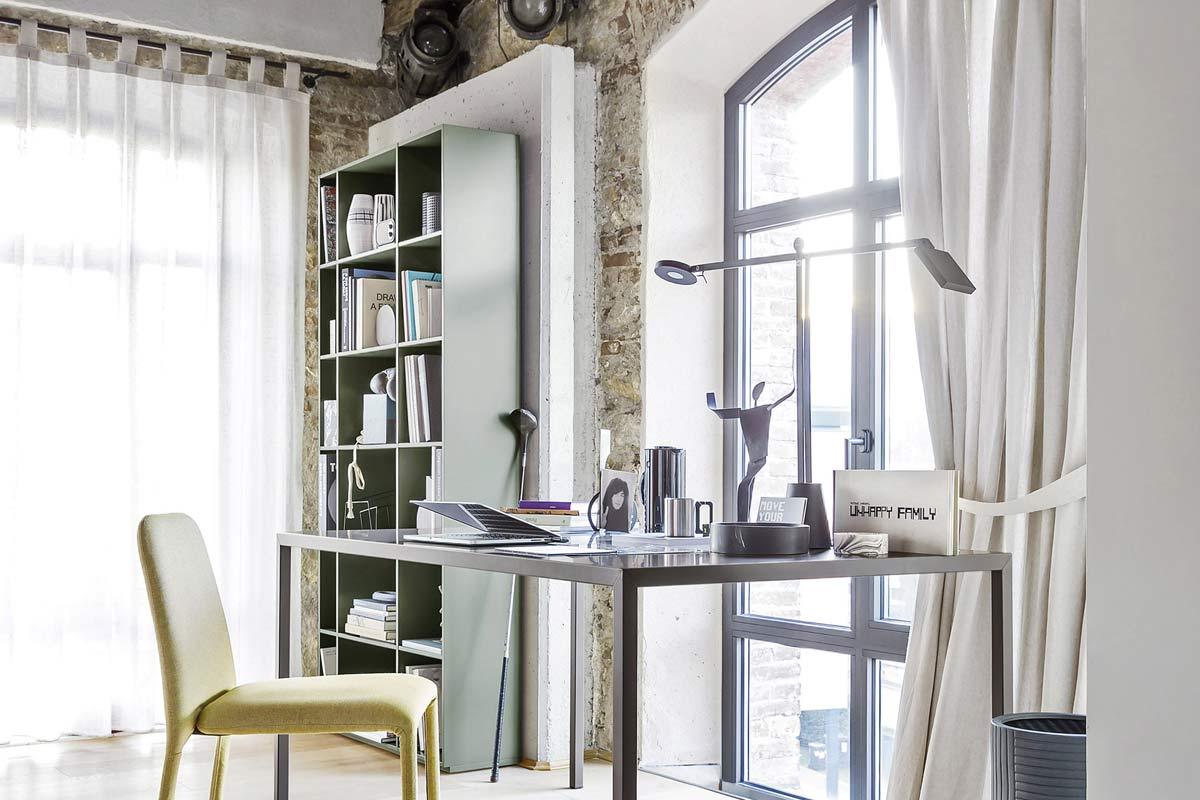 Libreria da ufficio moderna componibile top lops progetto for Libreria da ufficio