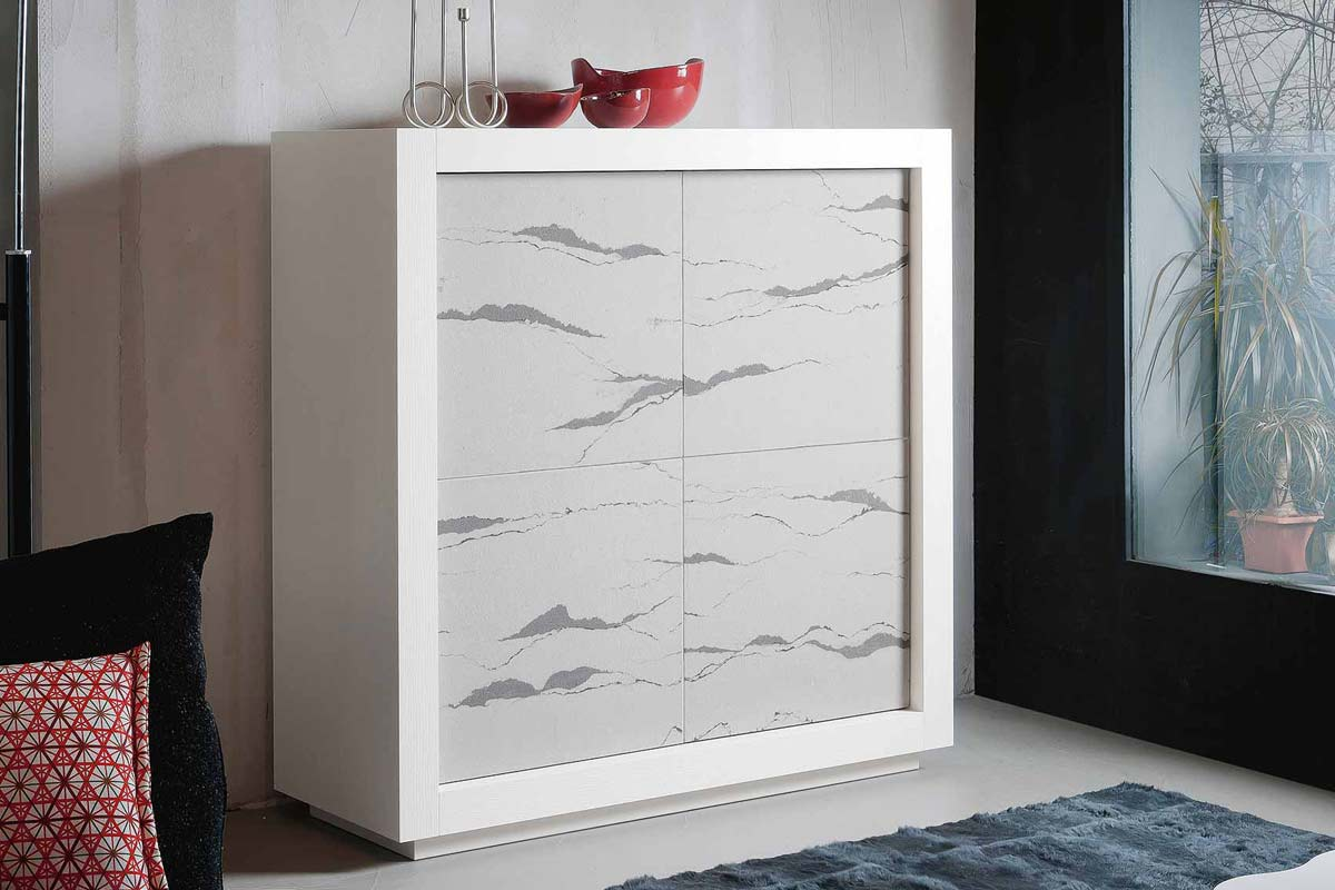 Credenza Moderna Noce Canaletto : Madia moderna riflessi picasso anta arabic madie credenze