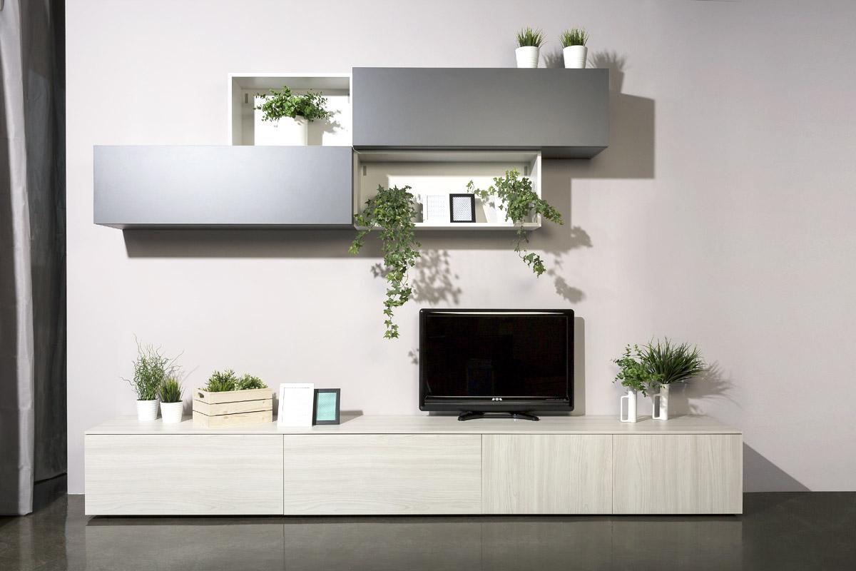 Moduli componibili soggiorno for Mobili moderni