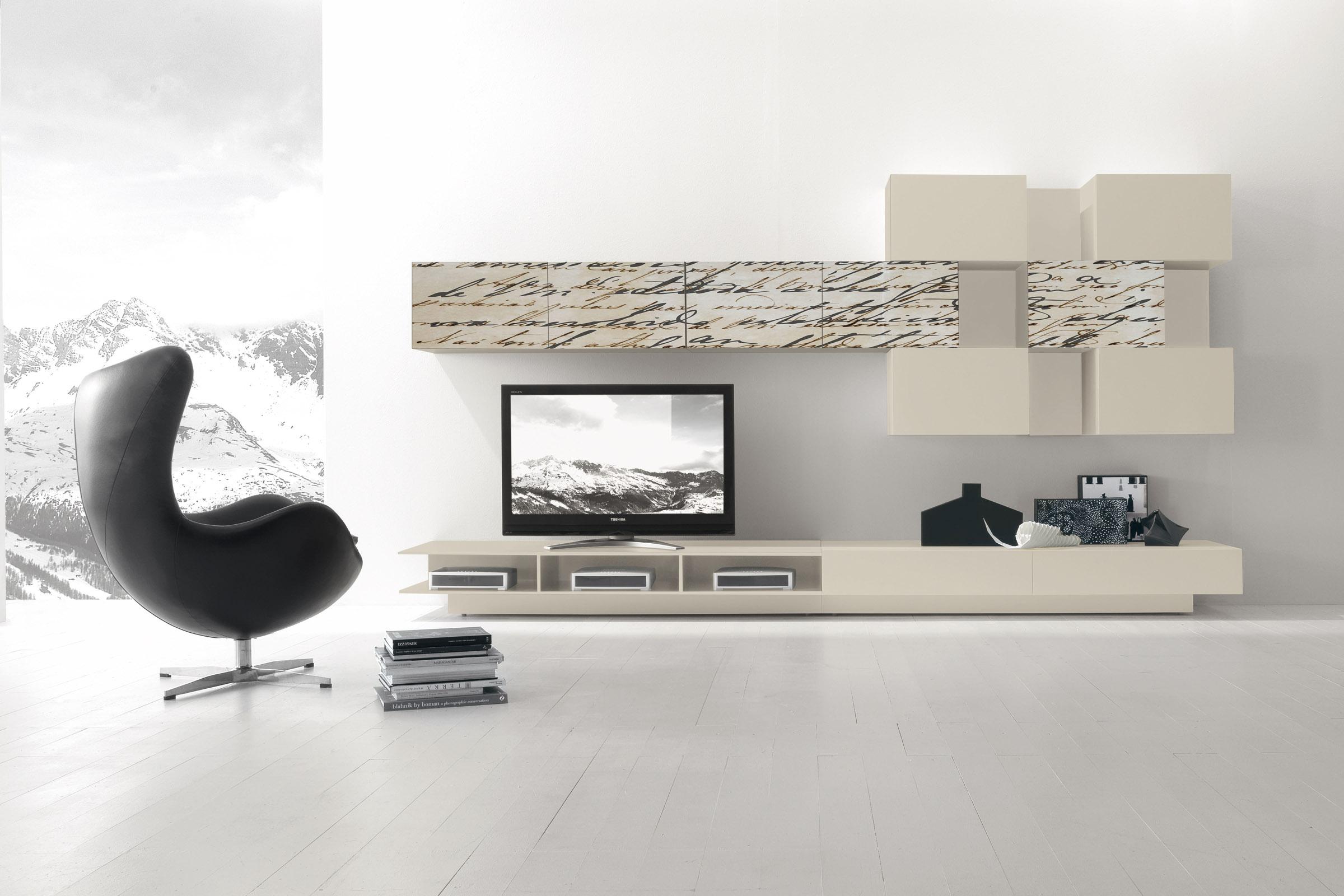 soggiorno moderno componibile presotto i modulart 6 - acquistabile ... - Colori Per Soggiorno Moderno 2