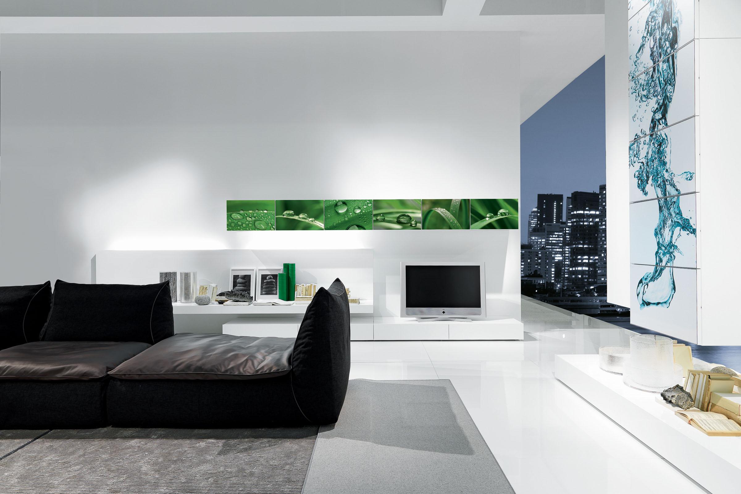 soggiorno moderno componibile presotto i modulart 6 - acquistabile ... - Soggiorno Moderno