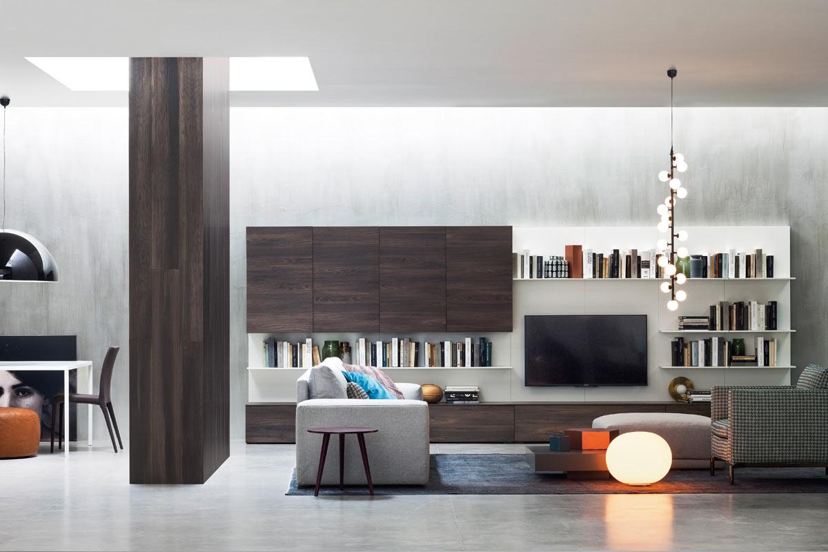 Stunning Soggiorno Moderno Componibile Gallery - Design Trends 2017 ...