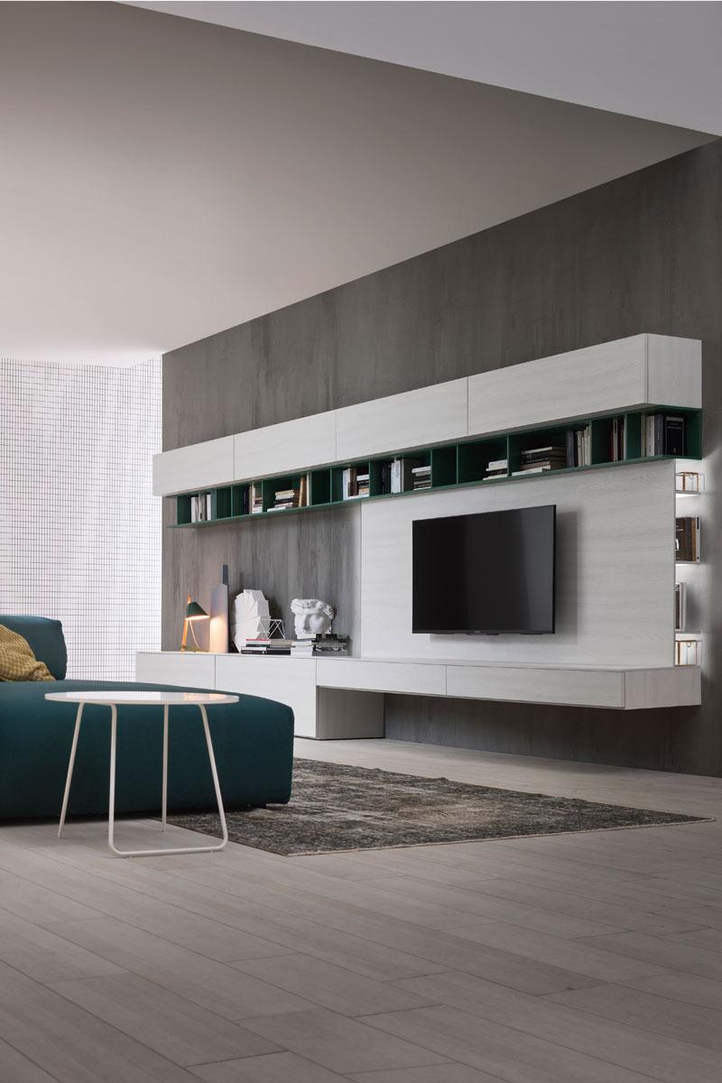 soggiorno moderno componibile top lops butterfly - acquistabile in ... - Soggiorno Moderno Tomasella 2