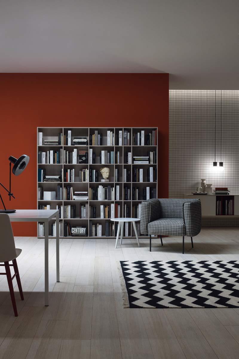 soggiorno libreria moderno: tiarch.com pareti attrezzate ikea. - Libreria Novamobili Soggiorno 2
