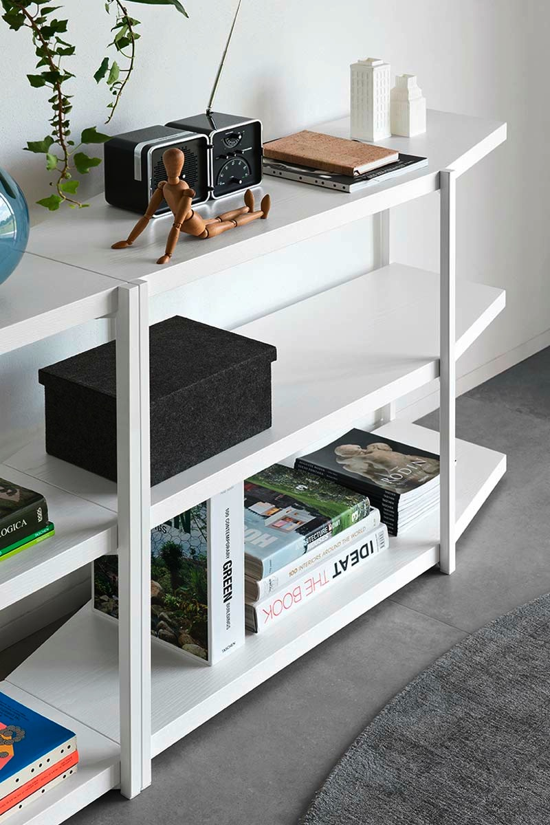 Libreria da ufficio moderna calligaris hangar mobili da for Libreria da ufficio