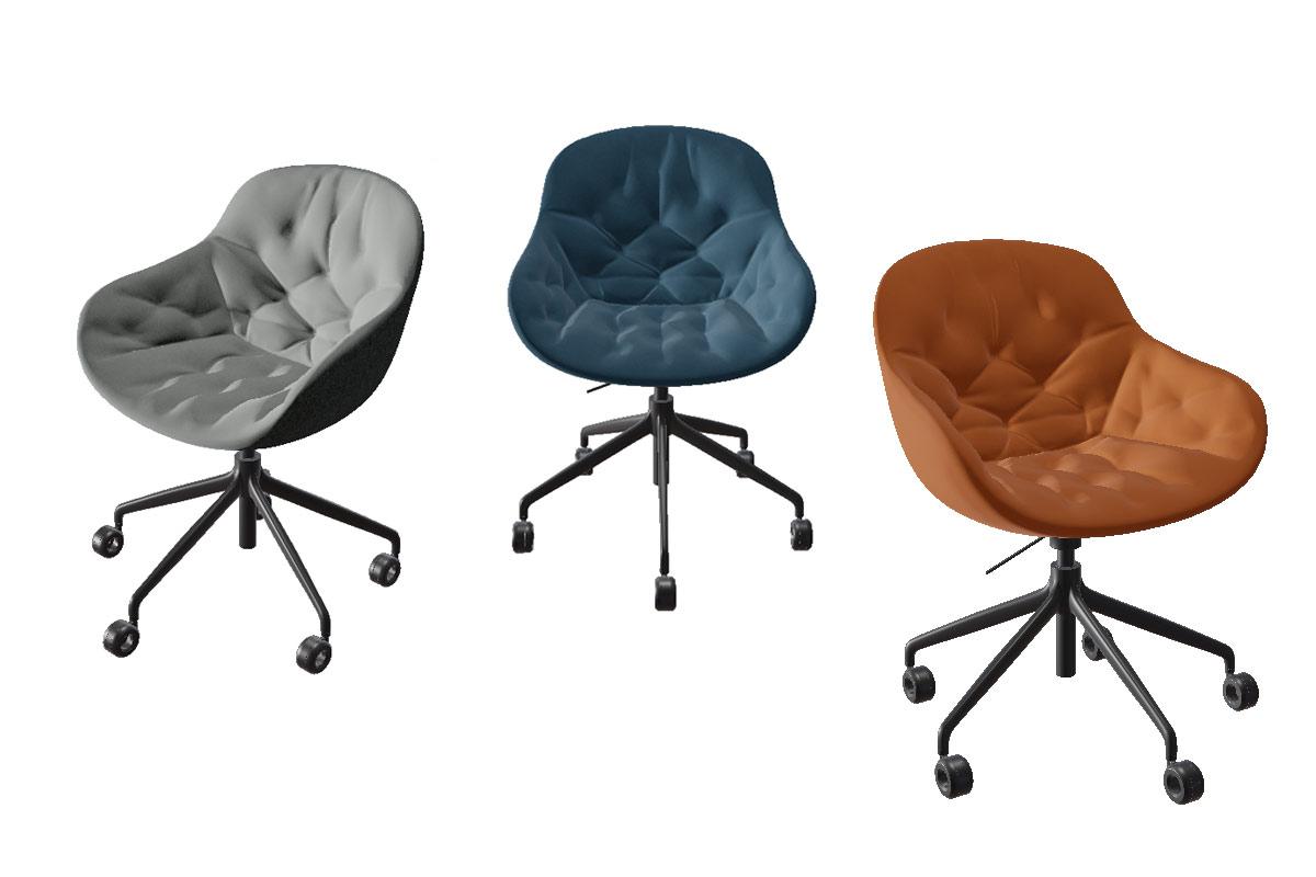 Sedia da ufficio moderna calligaris igloo soft sedie da for Calligaris comodini