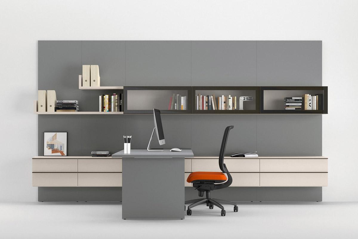 Mobile Componibile Da Ufficio.Sistema Da Ufficio Componibile Easy Lops Home Office Progetto 4